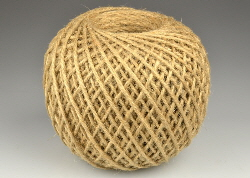 ball of hessian twine or string