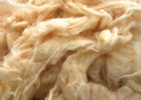 Fine loose cotton fibre