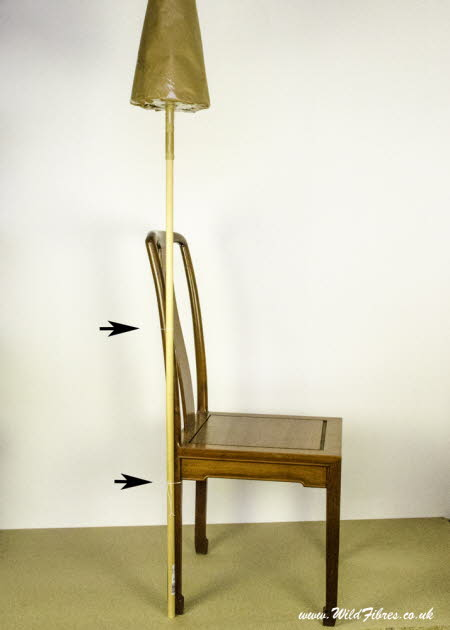 9.Cone distaff & chair
